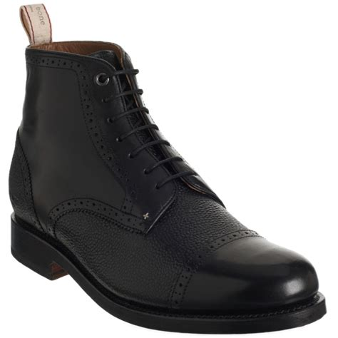 rag and bone boots mens rag bone wesley boot in black for lyst