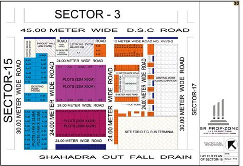 layout plan of sector 44 noida layout plan of noida sector 16 hd map
