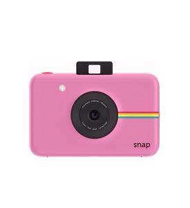 polaroid snap camera snapshot + print zink pink pink new