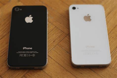 imagenes de iphone 4s en negro 191 iphone blanco o iphone negro poderpda