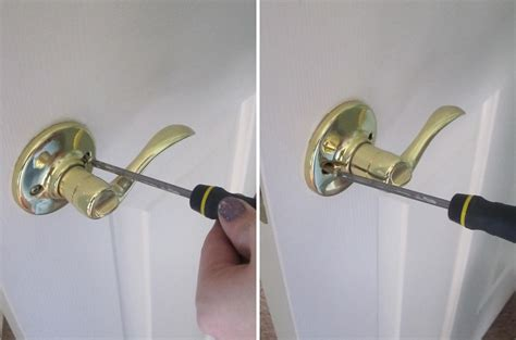 How Do You Fix A Door Knob by The Creative Cubby Diy Door Handle Upgrade