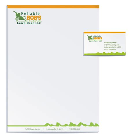 business letterhead and business cards company business card letterhead best free home