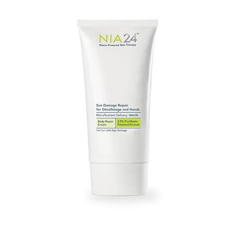 Sun Repair Damage Products List by Nia 24 Sun Damage Repair For Decolletage And Free