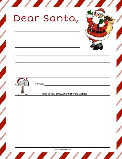 dear letter template dear santa letter template free letter of recommendation