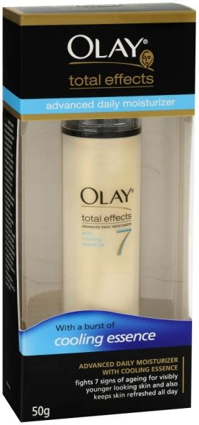 Olay Total Effect Cooling Essence product review olay total effects moisturiser with