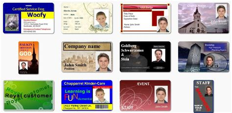 id cards templates maker 5 best images of id cards templates printable fbi