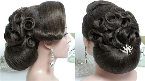 bridal hairstyles for hair step by step bridal hairstyle for hair tutorial wedding bun updo