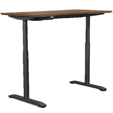 height adjustable office desk adjustable height office desk in desks and hutches