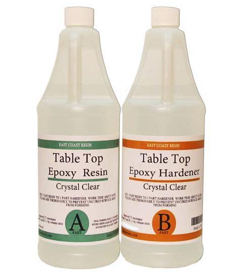 table top epoxy resin kit 64 oz 32 oz resin and 32 oz