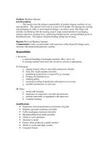 Cnc Description by Cnc Machinist Resume Getessay Biz