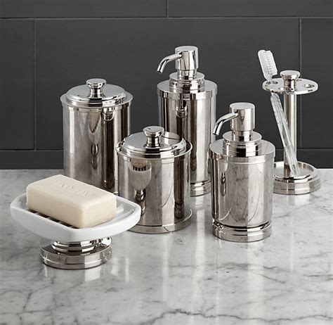 restoration hardware bathroom accessories restoration hardware asbury accessories home pinterest