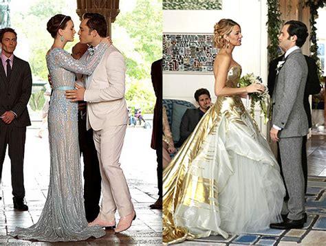 gossip girl serena and dans wedding celebrity street style