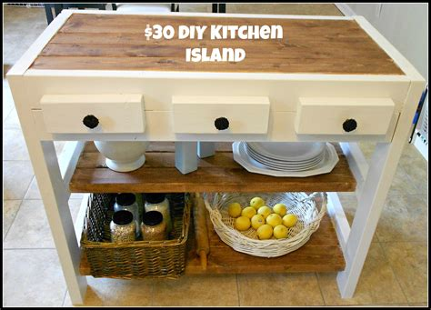 how to build a kitchen island cart 30 diy kitchen island mom in music city