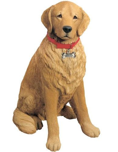 what size collar for golden retriever size golden retriever statue sandicast all products ls900 allsculptures
