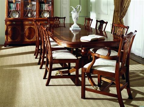 mahogany dining room table mahogany dining room furniture sets 16574