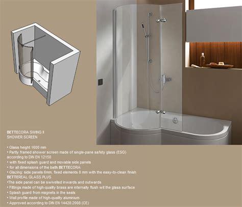 bette shower bath bette cora steel shower bath 1600 x 900mm bette2810