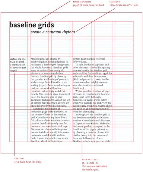 grid layout microsoft word the grid in layout design brady mvcc digital design