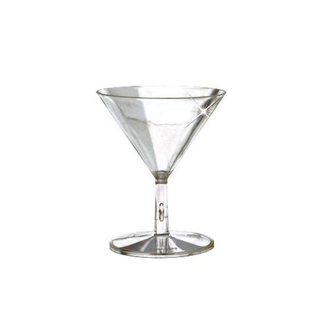 mini martini glasses emi yoshi mini martini glass clear 2 pieces 2 oz