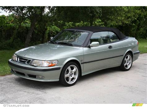 saab convertible green 2000 sun green metallic saab 9 3 se convertible 18788836