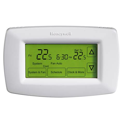 honeywell honeywell 7 day touchscreen programmable