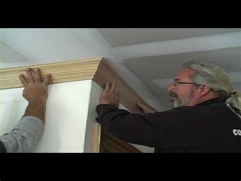 how to install crown molding along the ceiling ask john