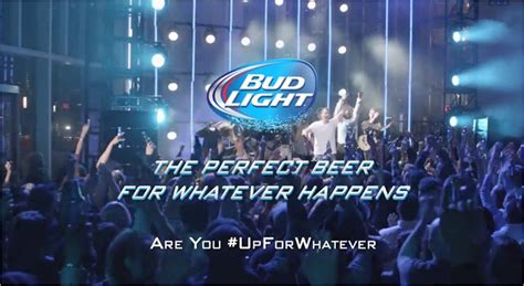 Bud Light For Whatever by