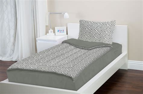 zippered bedding zipit bedding set zip up your sheets and comforter like