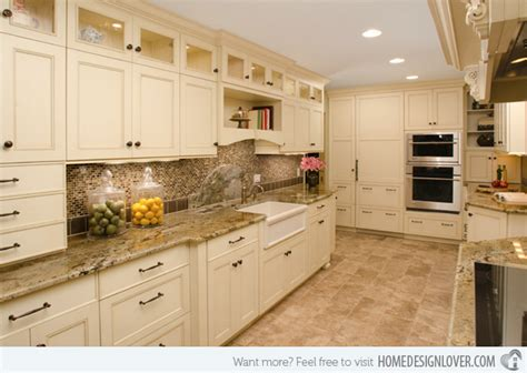 pictures of kitchens with cream cabinets 15 dainty cream kitchen cabinets fox home design