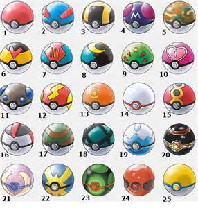 All Types Of All Pokeball Types Picture
