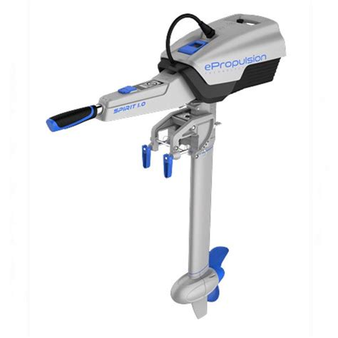 electric boat motor outboard epropulsion spirit 1kw electric outboard from nestaway boats