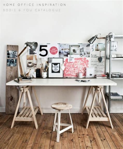 planche pour bureau comment fabriquer un bureau esprit industriel pas cher