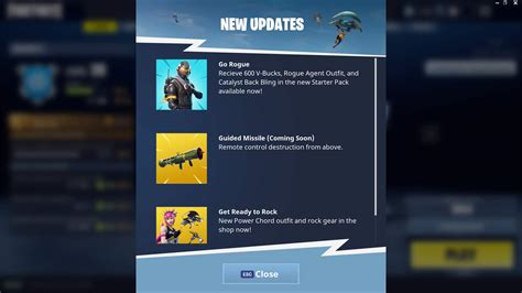 fortnite guided missile epic reveal a guided missile set to launch in