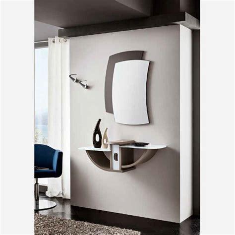 specchio per ingresso ingresso con specchiera e mensole pr670
