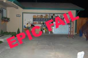 s organized garage failure