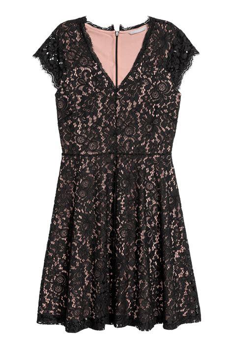 H Caseli Dress Set Black lace dress black sale h m us