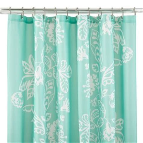 jc penny shower curtains jcpenney home meghan shower curtain bathrooms pinterest