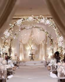 Decorating Ideas For Weddings 20 Awesome Indoor Wedding Ceremony D 233 Coration Ideas
