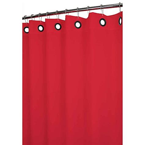 shower curtains with large grommets buy park b smith 174 dorset red large grommet 72 inch x 72