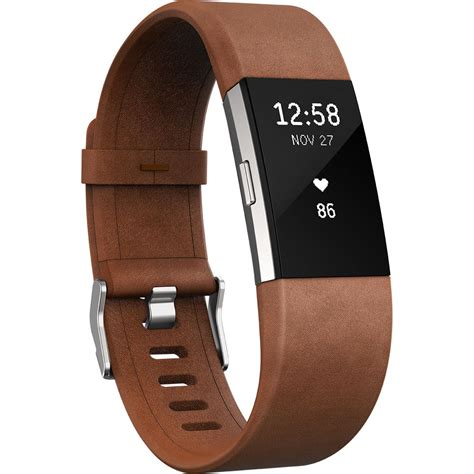 Fitbit Charge 2 Band fitbit luxe leather band for fitbit charge 2 fb160lbcgs b h