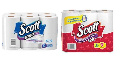 scott bathroom tissue coupon hot stock up on scott paper towels and bath tissue at