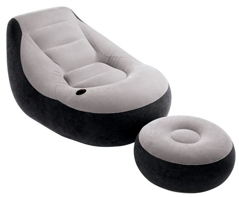 Intex Chair intex 1 person chair ottoman home cing ebay