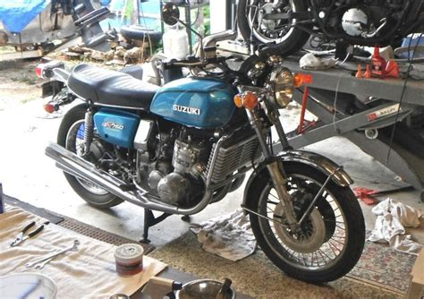 Suzuki Gt750 Water Buffalo 1975 6 Suzuki Gt750 Water Buffalo For Sale On 2040motos