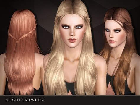 sims 3 resource hair holland roden inspired hair 15 by nightcrawler sims 3 hairs