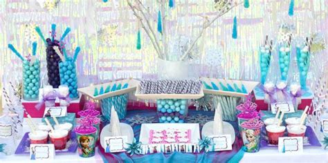 frozen party ideas for 7 year old girl unique kids disney s frozen themed birthday party supplies decor ideas
