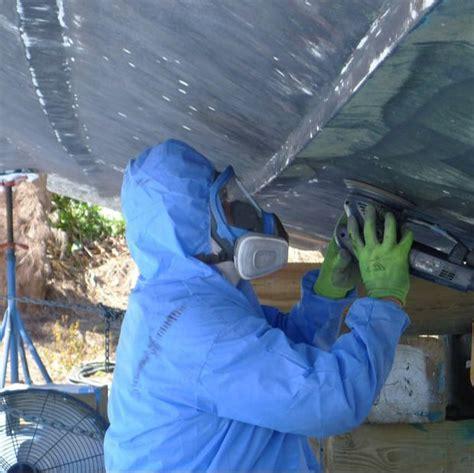boat bottom paint sanding snead island boat works snead island boat works