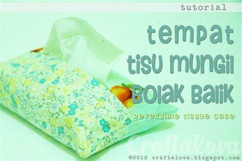 Tempat Tissue Tisue Tissu Tisu Gulung The Smurfs craftalova tutorial tempat tisu mungil bolak balik