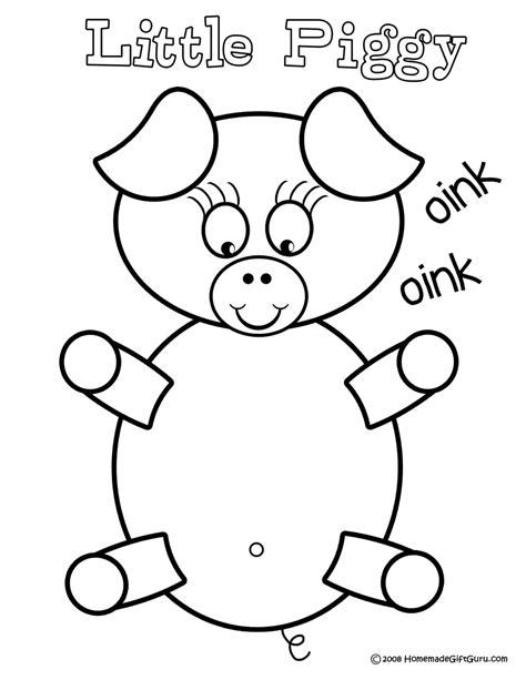 ausmalbilder f 252 r kinder malvorlagen und malbuch pig