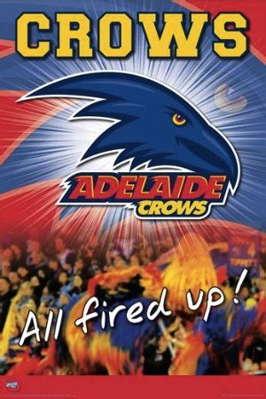 adelaide crows afl regular poster 01 1703