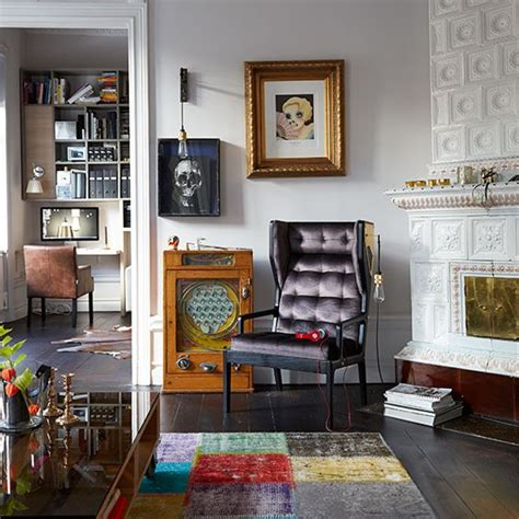 Living Room Accessories Uk Living Room With Eclectic Accessories Decorating