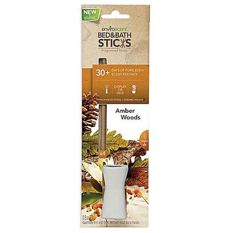 bathroom scent sticks enviroscent amber woods bed bath sticks with ceramic